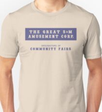 The Great S&M Amusement Corp. (Ace in the Hole) Unisex T-Shirt