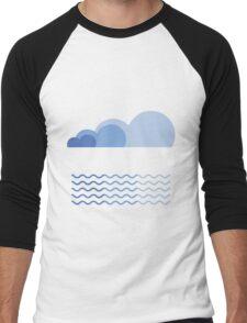 Sky and Sea Men's Baseball ¾ T-Shirt
