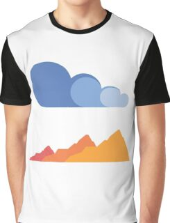 Mountains and Clouds Graphic T-Shirt