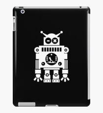Cute Robot 6 White iPad Case/Skin