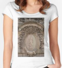 Grand Palais Details - 4 ©  Women's Fitted Scoop T-Shirt