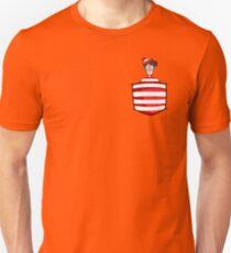 Wally / Waldo is in my pocket Unisex T-Shirt