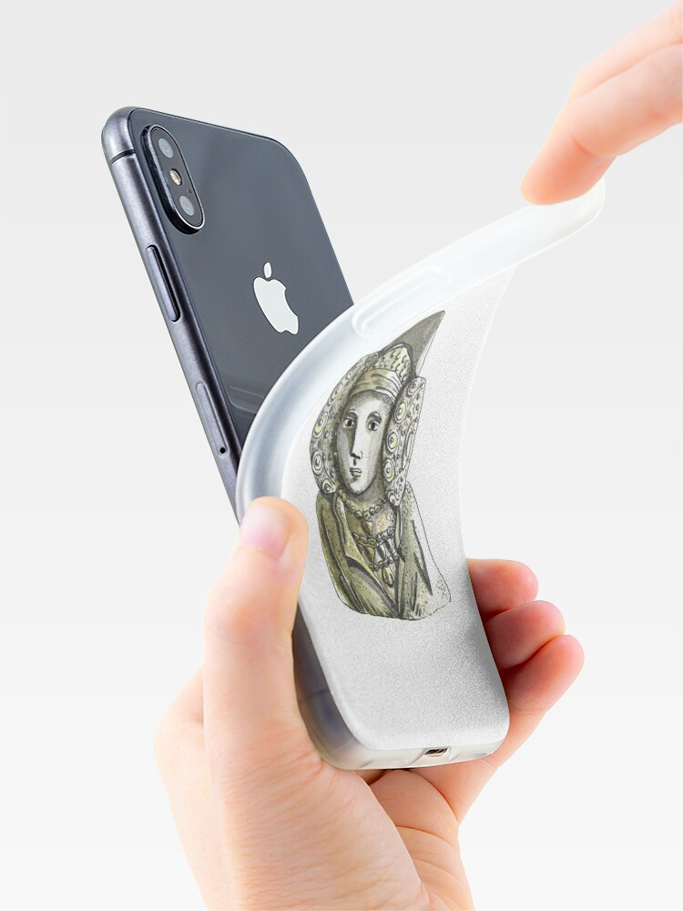 Vista alternativa de Funda y vinilo para iPhone Dama de Elche