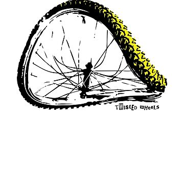 twisted wheels: bent wheel by fourfootsquare