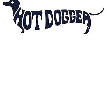 Hot Dog Funny 70s shirt by ChevCholios