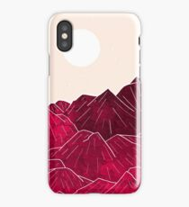 Ruby Mountains iPhone Case/Skin
