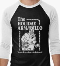 Friends - The Holiday Armadillo T shirt Men's Baseball ¾ T-Shirt