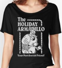 Friends - The Holiday Armadillo T shirt Women's Relaxed Fit T-Shirt