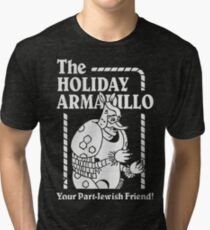 Friends - The Holiday Armadillo T shirt Tri-blend T-Shirt