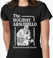 Friends - The Holiday Armadillo T shirt Womens Fitted T-Shirt