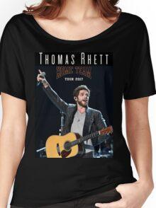 Boavit06 Thomas Rhett Home Team Tour 2017 Women's Relaxed Fit T-Shirt