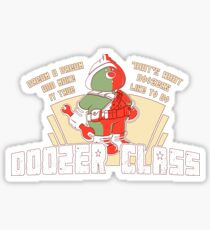 Doozer Class Sticker