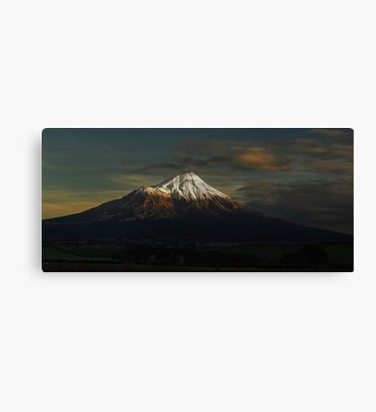The First Light Canvas Print