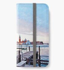 Sunrise in Venice II iPhone Wallet