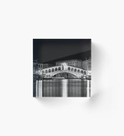 Venice by Night II Acrylic Block