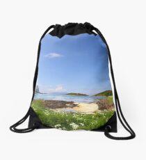 Norwegian Landscape Drawstring Bag