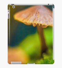 It's a Small World Mushroom photograph iPad Case/Skin