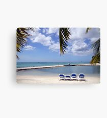 Aruba Holiday Canvas Print
