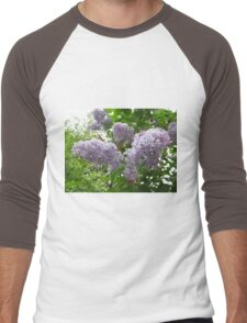 Lilac 6 Men's Baseball ¾ T-Shirt