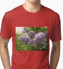 Lilac 6 Tri-blend T-Shirt