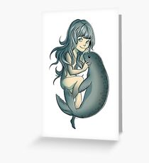 Selkie - Mythical Sea Creature Greeting Card