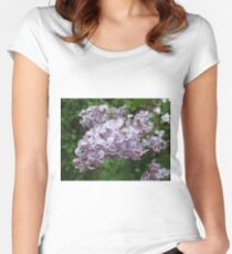 Lilac 5 Women's Fitted Scoop T-Shirt