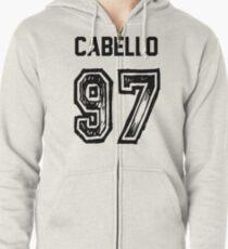 Sudadera con capucha y cremallera Cabello '97