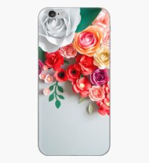 Paper flowers iPhone Case