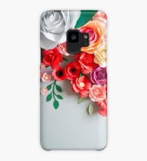 Paper flowers Case/Skin for Samsung Galaxy