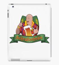 Schraderbrau iPad Case/Skin