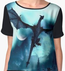 SKYRIM Women's Chiffon Top