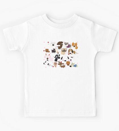 Dog pattern Kids Clothes