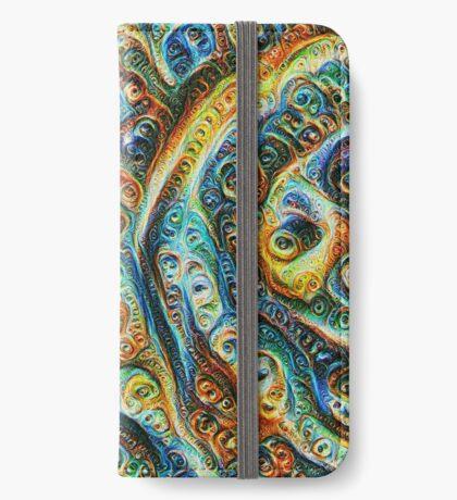 Gothic Style #DeepDream iPhone Wallet