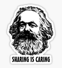 Sharing is caring Sticker