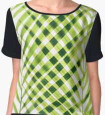 Palm leaves I Women's Chiffon Top