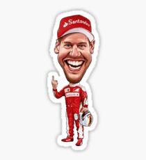 Sebastian Vettel 2017 Sticker