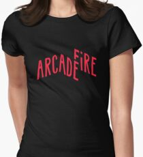 Arcade Fire Women's Fitted T-Shirt