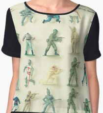 Broken Army Women's Chiffon Top