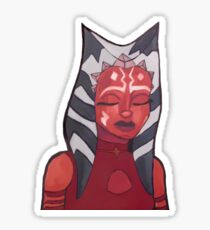 ahsoka tano artwork (version 2) Sticker