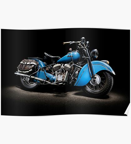 1948 Indian Chief Poster