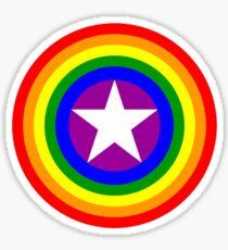 Pride Shields - Rainbow Sticker