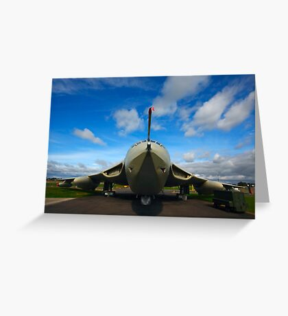 Victor Bomber Greeting Card
