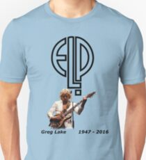 Greg Lake - Emerson Lake and Palmer Tribute Unisex T-Shirt