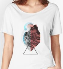 Fragmented .932 Women's Relaxed Fit T-Shirt