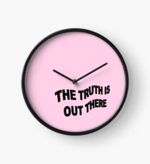 The truth is out there Clock