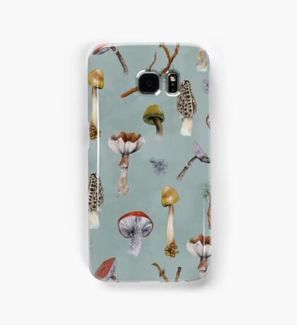 Mushroom Forest Collecting Party Samsung Galaxy Case/Skin