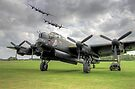 3 Lancasters - East Kirkby Flypast by Colin  Williams Photography