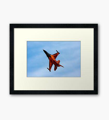 F16 AM Royal Netherlands Framed Print