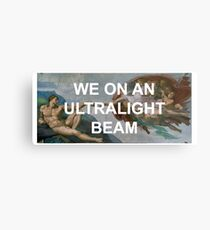 We On An Ultralight Beam Metal Print