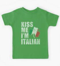Kiss Me Im Italian Kids Clothes